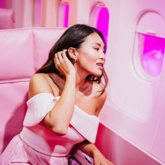 Pink Airline.