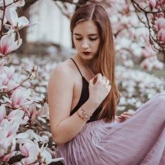 Träumerei im Frühling.