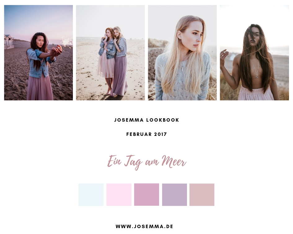 Josemma, Lookbook, Fotoshooting, Meer, Strand, Holland, Shooting