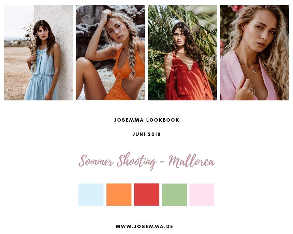 Josemma, Lookbook, Fotoshooting, Mallorca, Sommer, Shooting