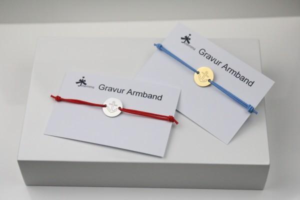 Anker Gravur Armband