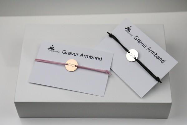 Infinity Gravur Armband