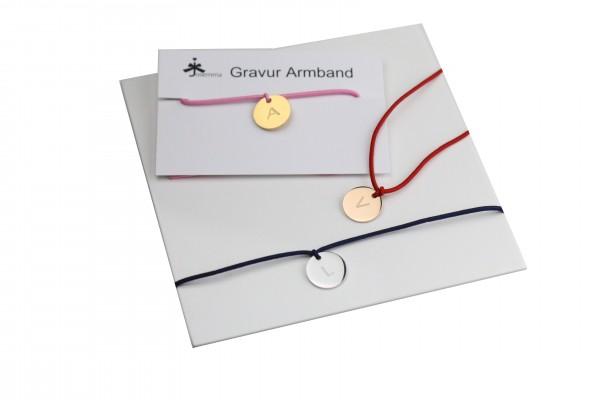 Initial Gravur Armband