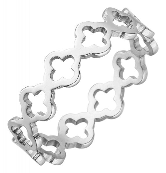 clover Kleeblatt Ring