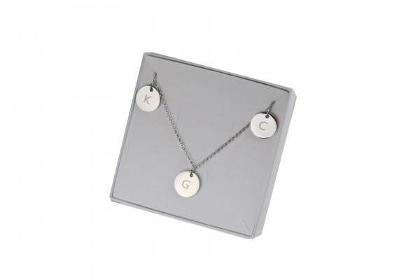 Silber Familienkette Münzkette