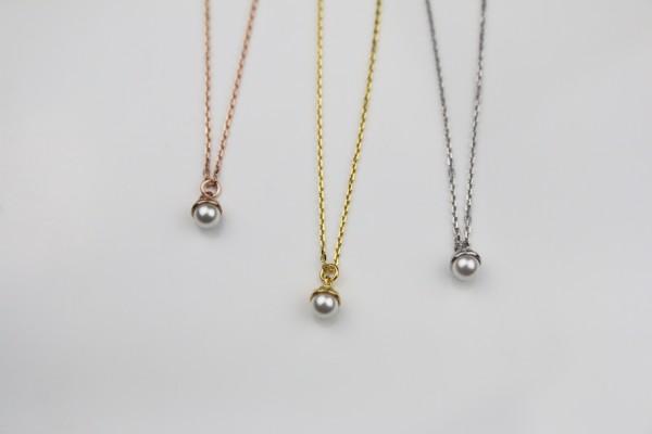 Pearl Süßwasser Perlen Kette