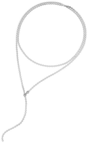 dottie Y Choker Farbe Silber