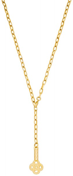 knot choker Kette Gold