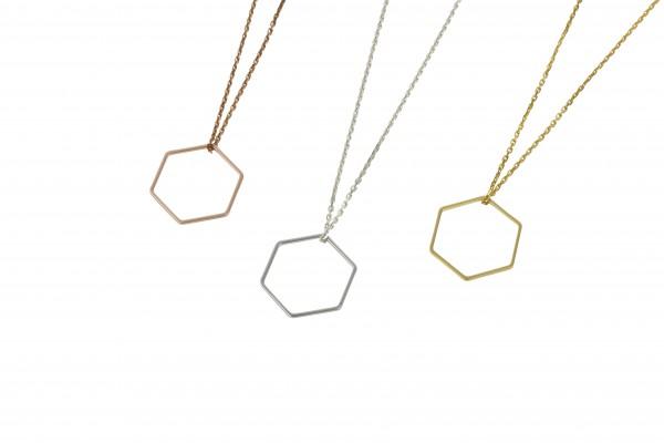 Geometrics Kette Hexagon