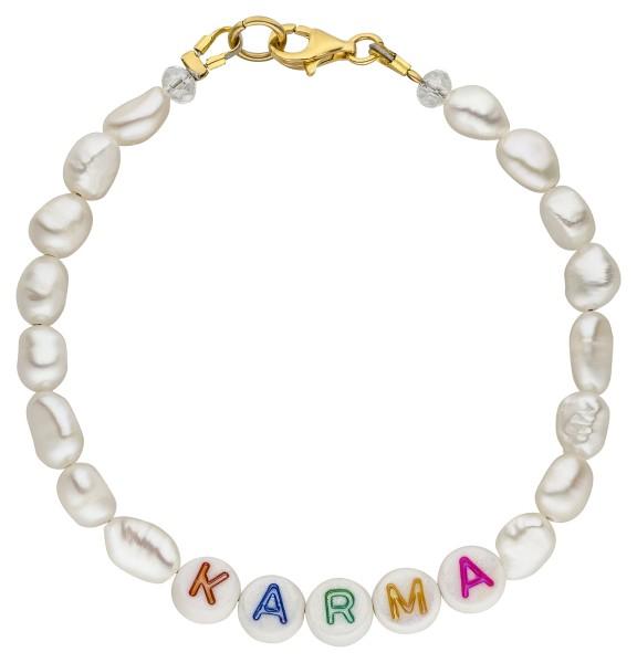 Süßwasser Perlen Armband mit Statement