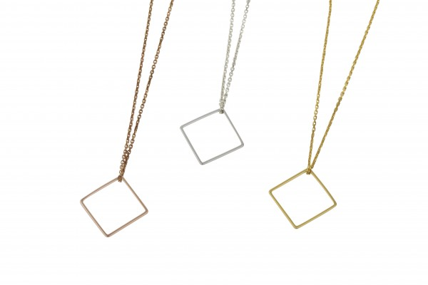 Geometrics Kette Quadrat