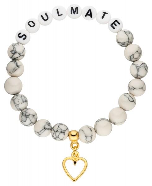 Perlen Armband mit Statement